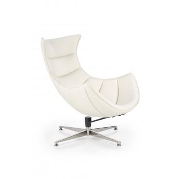 LUXOR fotel wypoczynkowy biały (1p 1szt) - Halmar