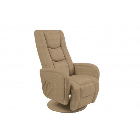 PULSAR 2 recliner z funkcją masażu beżowy - Halmar