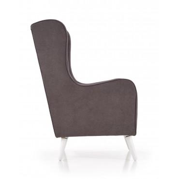 CHESTER fotel wypoczynkowy ciemny popiel ( LIRA-1213 ) - Halmar