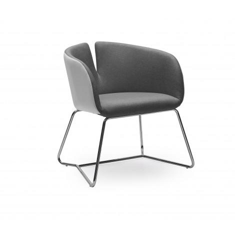 PIVOT fotel popiel - Halmar