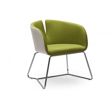 PIVOT fotel zielony - Halmar