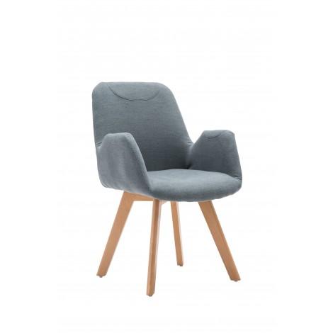 SAFARI fotel wypoczynkowy popielaty - Halmar