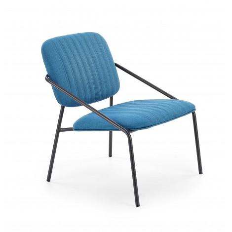 DENNIS fotel niebieski (1p 2szt) - Halmar