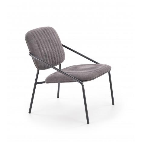 DENNIS fotel popiel (1p 2szt) - Halmar