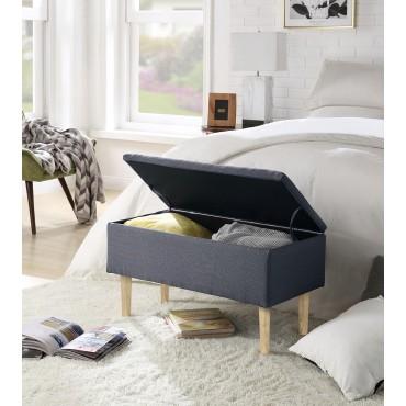 CLEO ławka z pojemnikiem popiel (1p 1szt) - Halmar