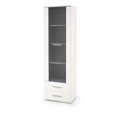 LIMA W-1 witryna biały (2p 1szt) - Halmar