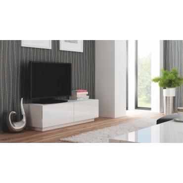 LIVO RTV 160 stojąca biały (1p 1szt) - Halmar