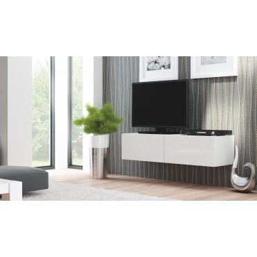 LIVO RTV 160 wisząca biały (1p 1szt) - Halmar