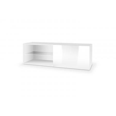 LIVO RTV 120 wisząca biały (1p 1szt) - Halmar