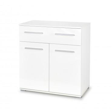 LIMA KM-1 komoda biały (1p 1szt) - Halmar