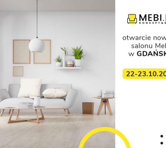 nowy salon mebli w Gdańsku - otwarcie salonu Mebi